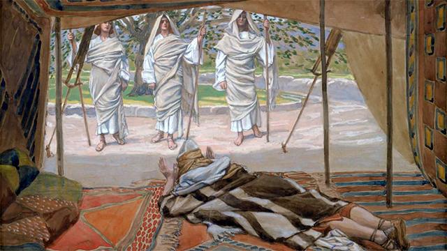 Bild «Abraham and the Three Angels»