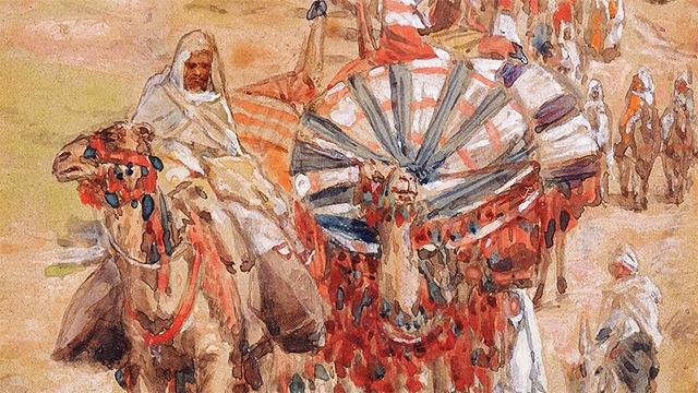 Ausschnitt aus Bild «The Caravan of Abraham» von James Tissot
