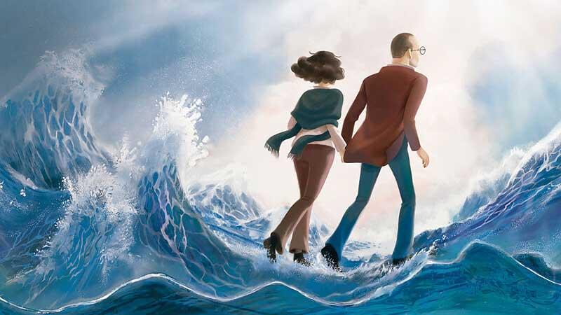 «Auf dem Wasser laufen» von Klaus-Dieter John