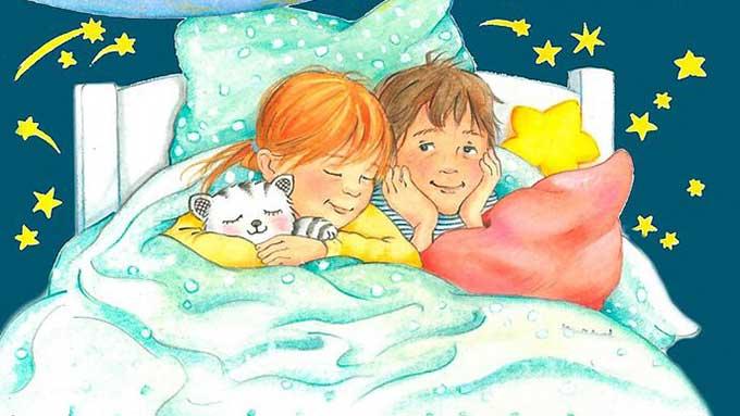 Buch «Gute-Nacht-Geschichten vom lieben Gott» von Margot und Lea Kässmann
