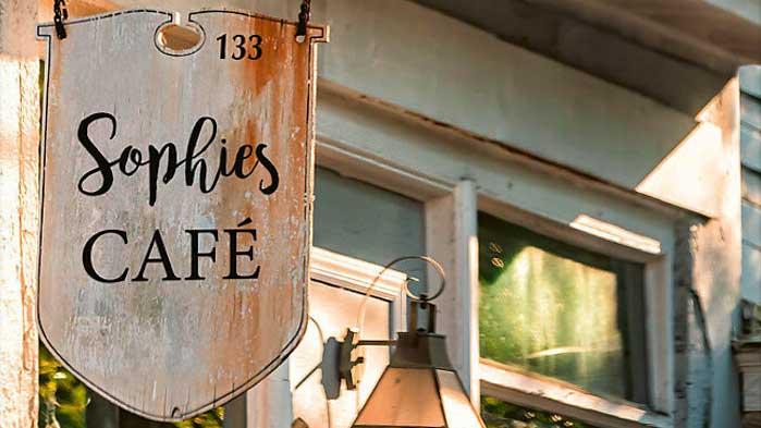 Buch «Sophies Café» von T. I. Lowe