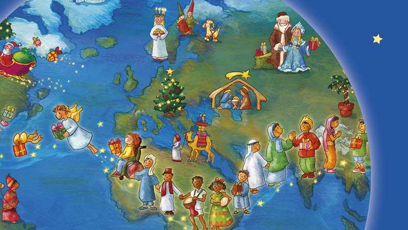 Buch «Weihnachtliche Reise um die Welt» von Katharina Mauder