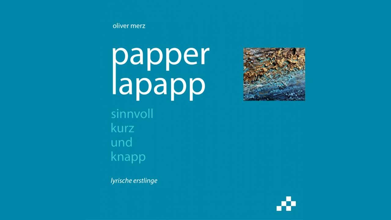 Buch «Paperlapapp» von Oliver Merz