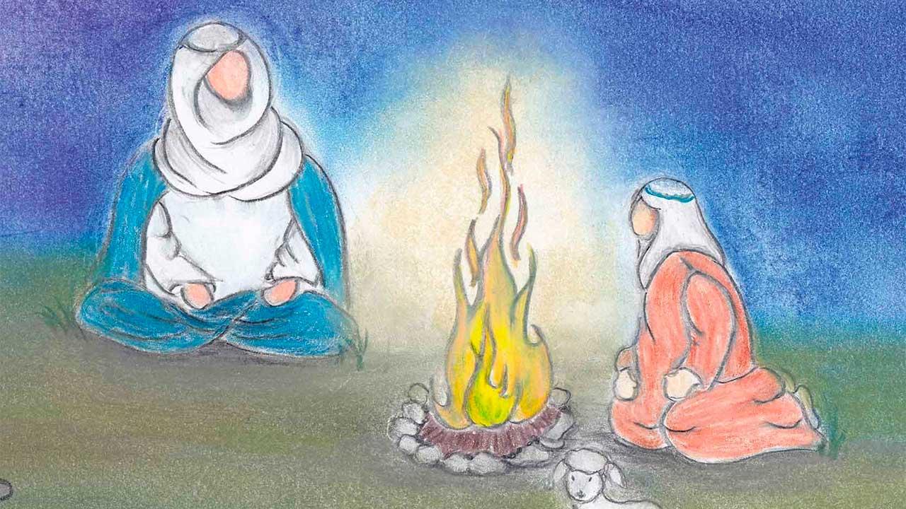 Buch «Matthias und die Geschichten von Bethlehem»