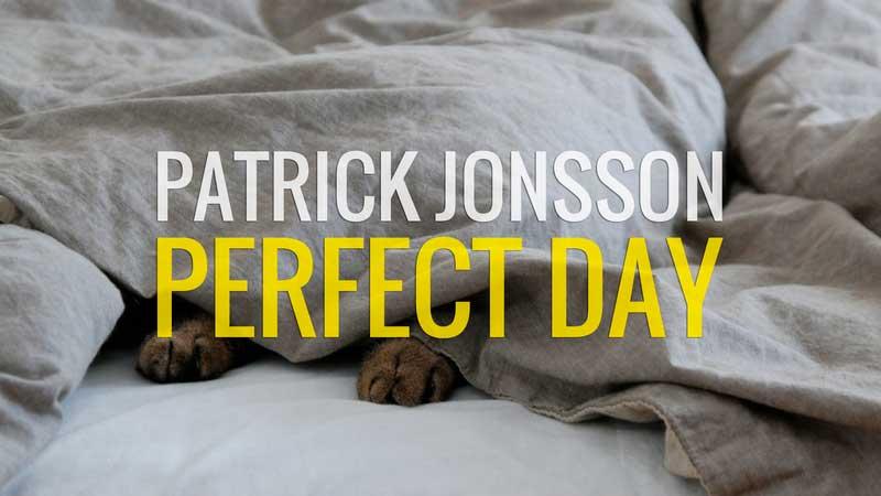 Single «Perfect Day» von Patrick Jonsson