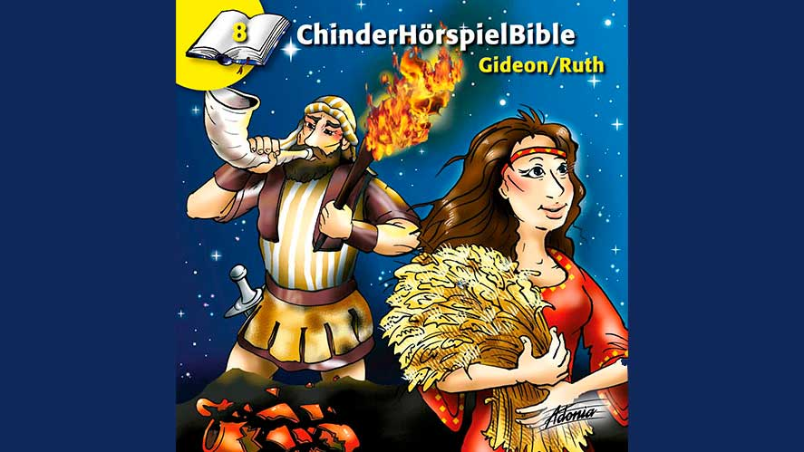 Cover «ChinderHörspielBible Gideo/Ruth»