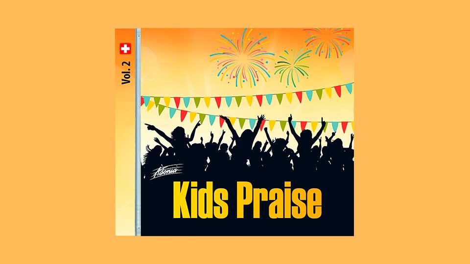 Cover der CD «Kids Praise Vol. 2»