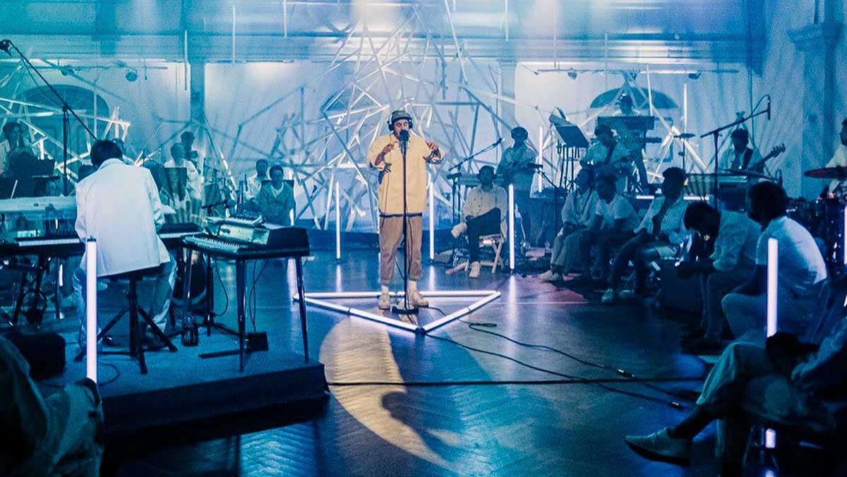Szene aus der Veranstaltung «Zusammenkunst» von Central Arts