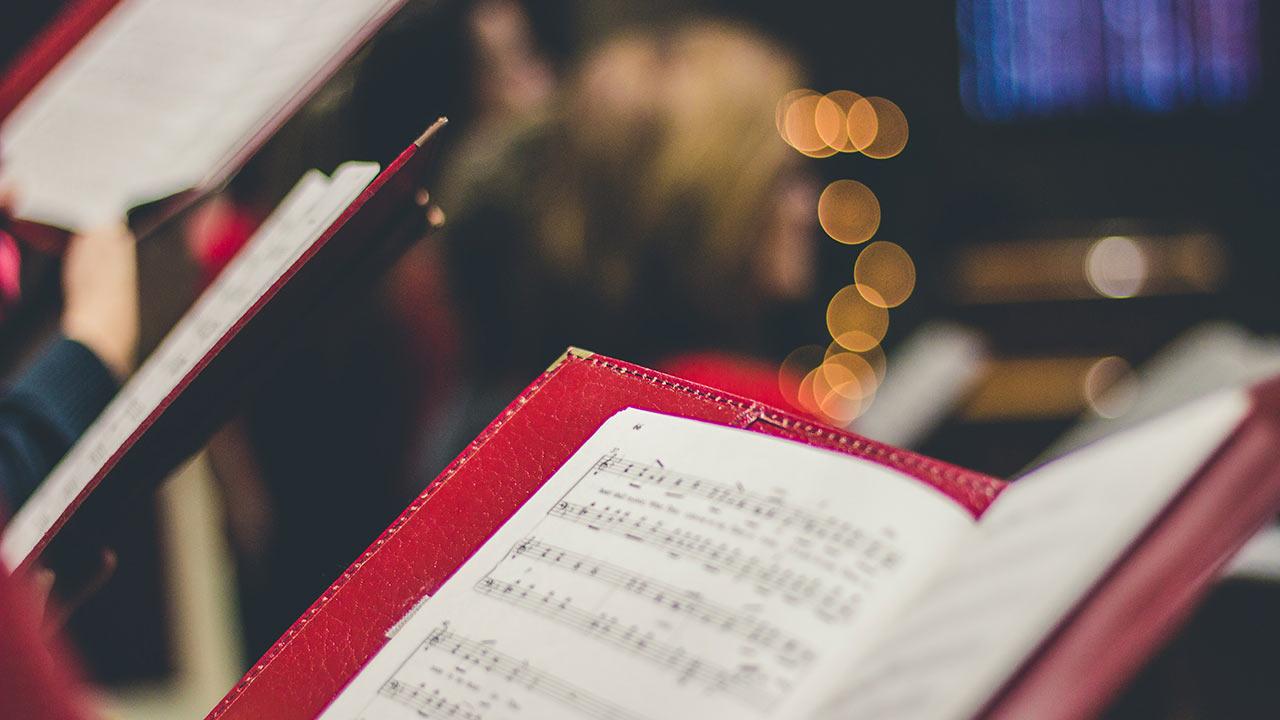 Kirchenchöre am Singen