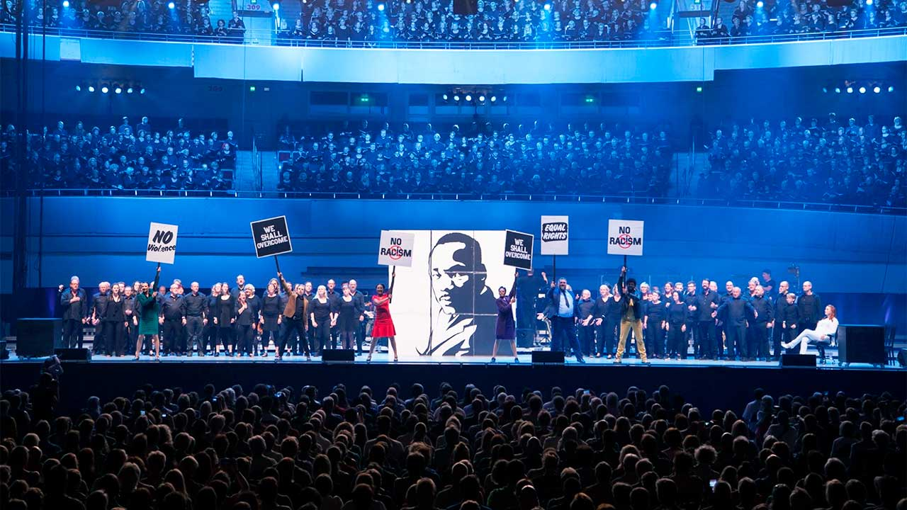Chormusical «Martin Luther King» | (c) Stiftung Creative Kirche