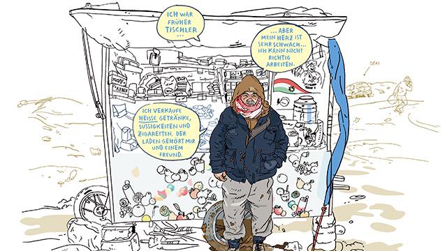 Ausschnitt aus Comic (c) Verlag bbb Edition Moderne