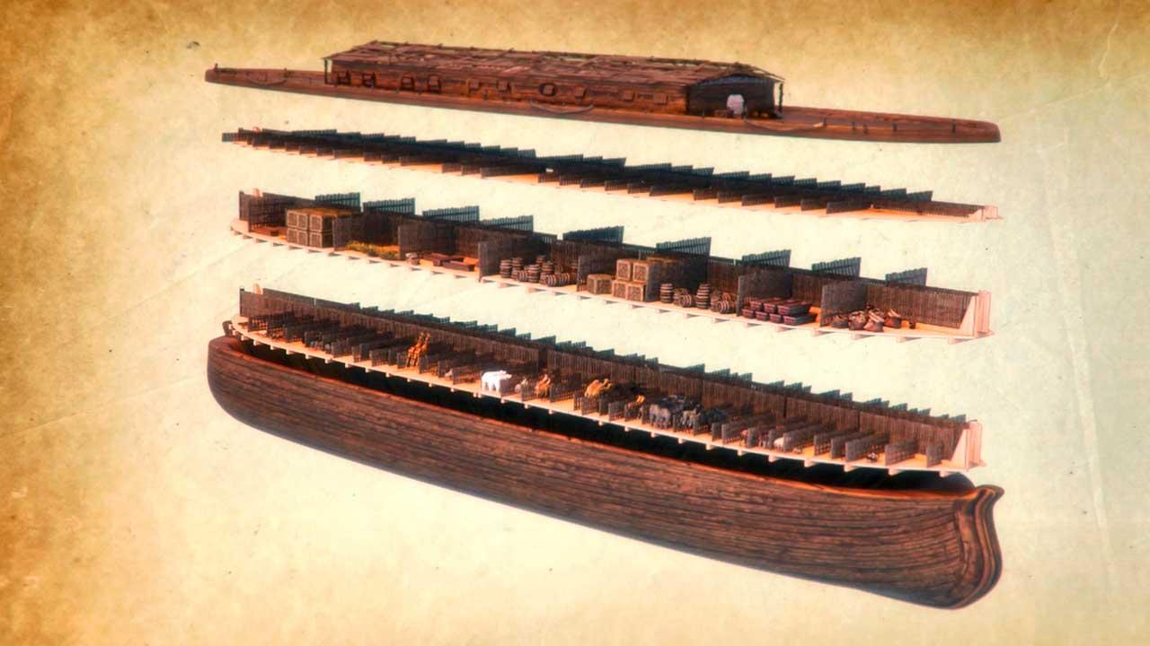 Bild aus dem Computerspiel «Noah's Ark»