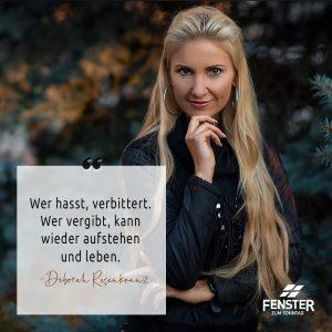 Blind vor Liebe - Deborah Rosenkranz | (c) ERF Medien