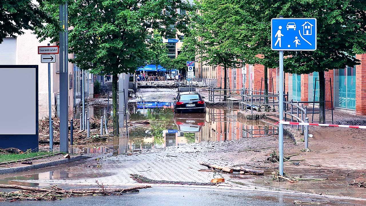 Schäden in Hagen, Nordrhein-Westfalen, 15. Juli 2021