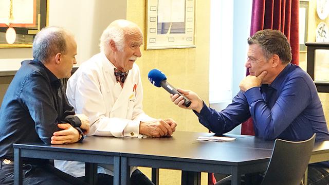 Willi Näf, Anton Mosimann, Ruedi Josuran