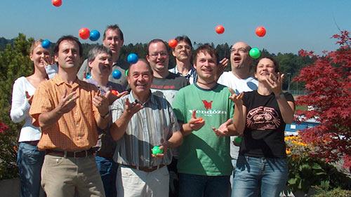 Das Radio Life Channel Team der ersten Stunde   (c) ERF Medien
