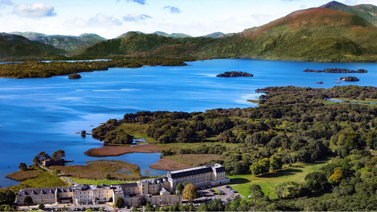 Lake Hotel in Irland