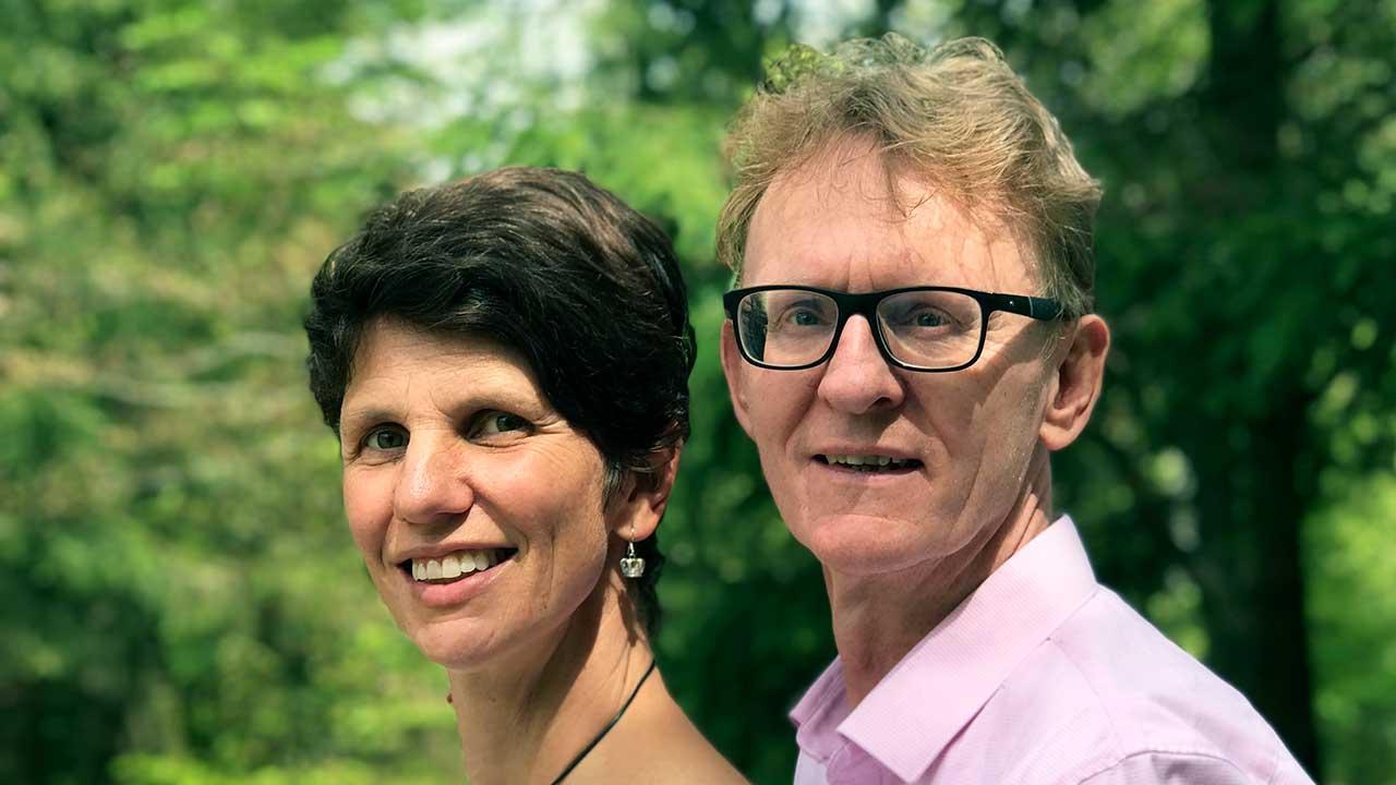 Wolfgang Edele mit Ehefrau Andrea | (c) privat