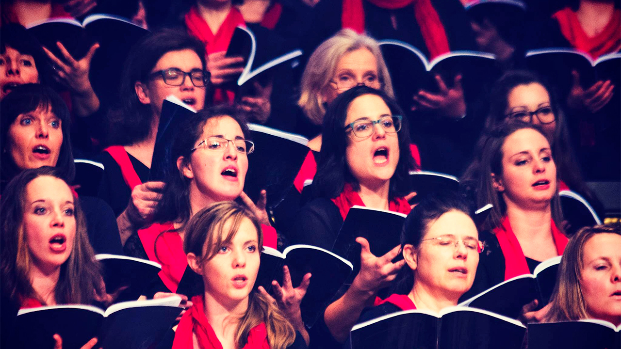 Sängerinnen von Ensemble Animato