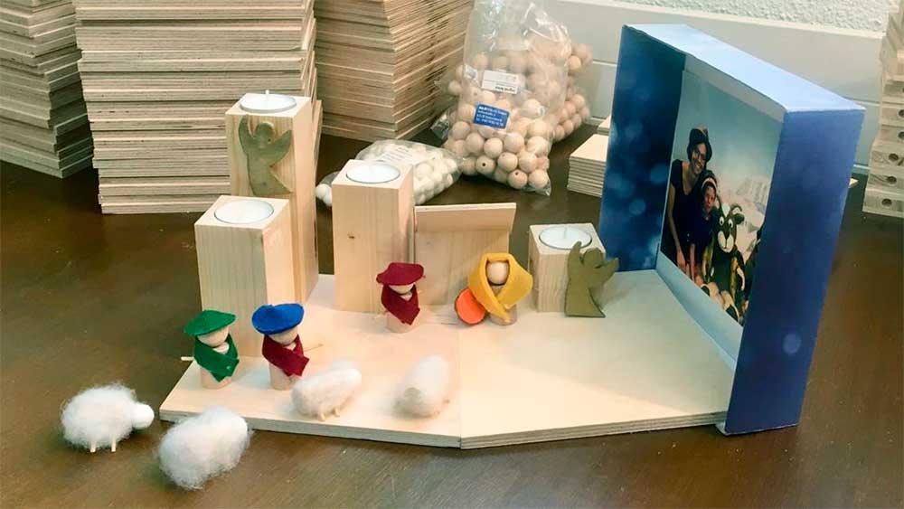Bestandteile der Advents-EntdeckerBox