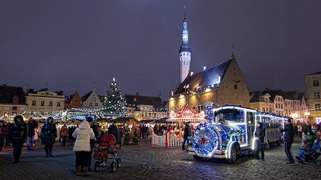 Tallinn Estland an Neujahr (c) 123rf