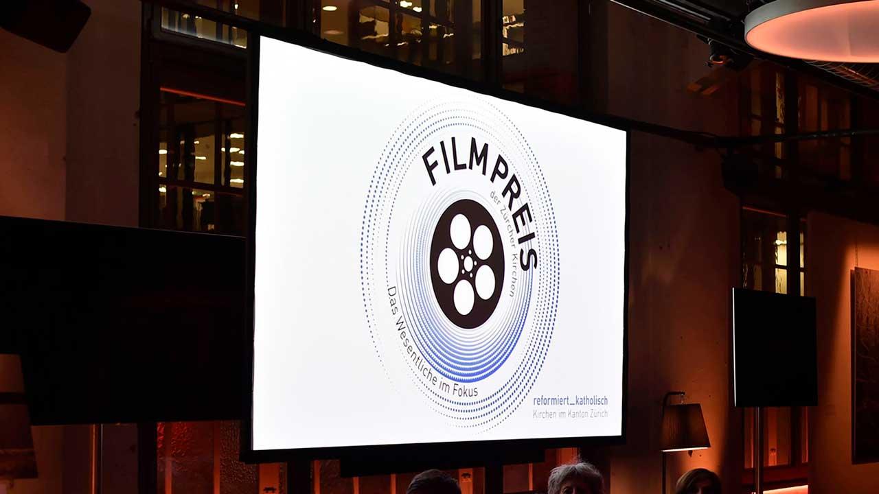 Logo des Filmpreises der Zürcher Kirchen