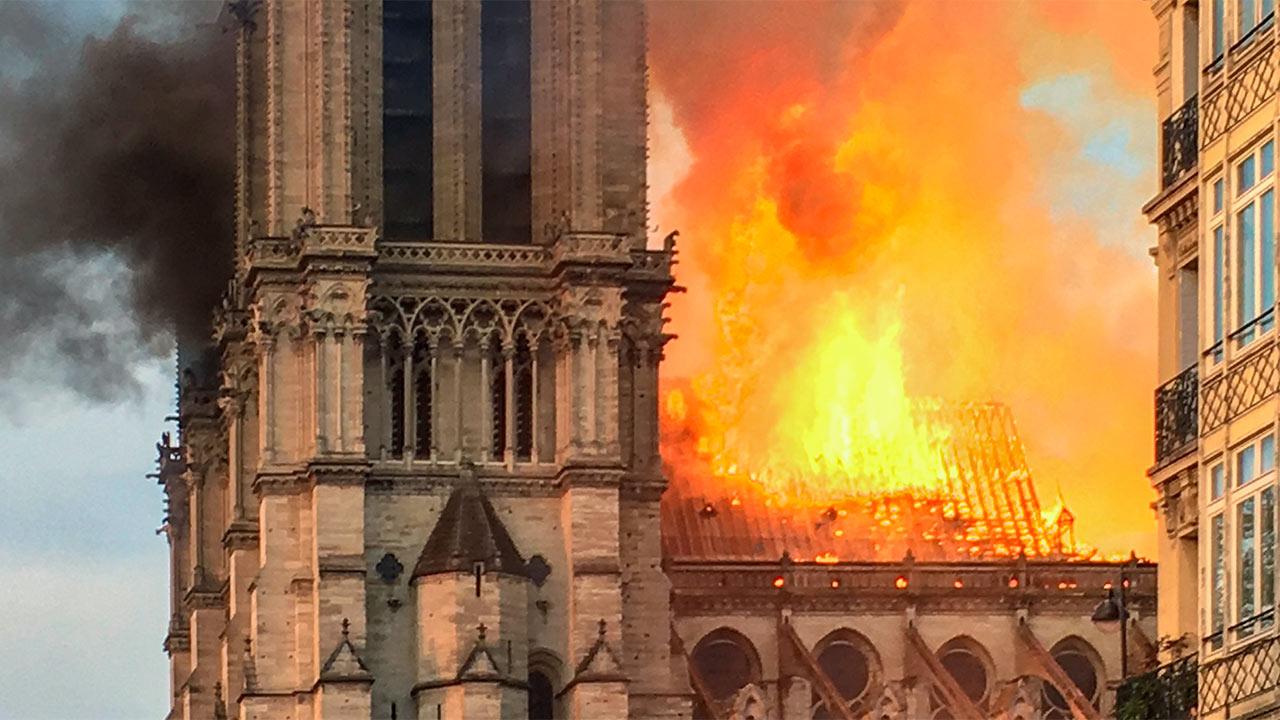Brand in der Notre-Dame: Luzerner erinnern sich an die Kappellbrücke