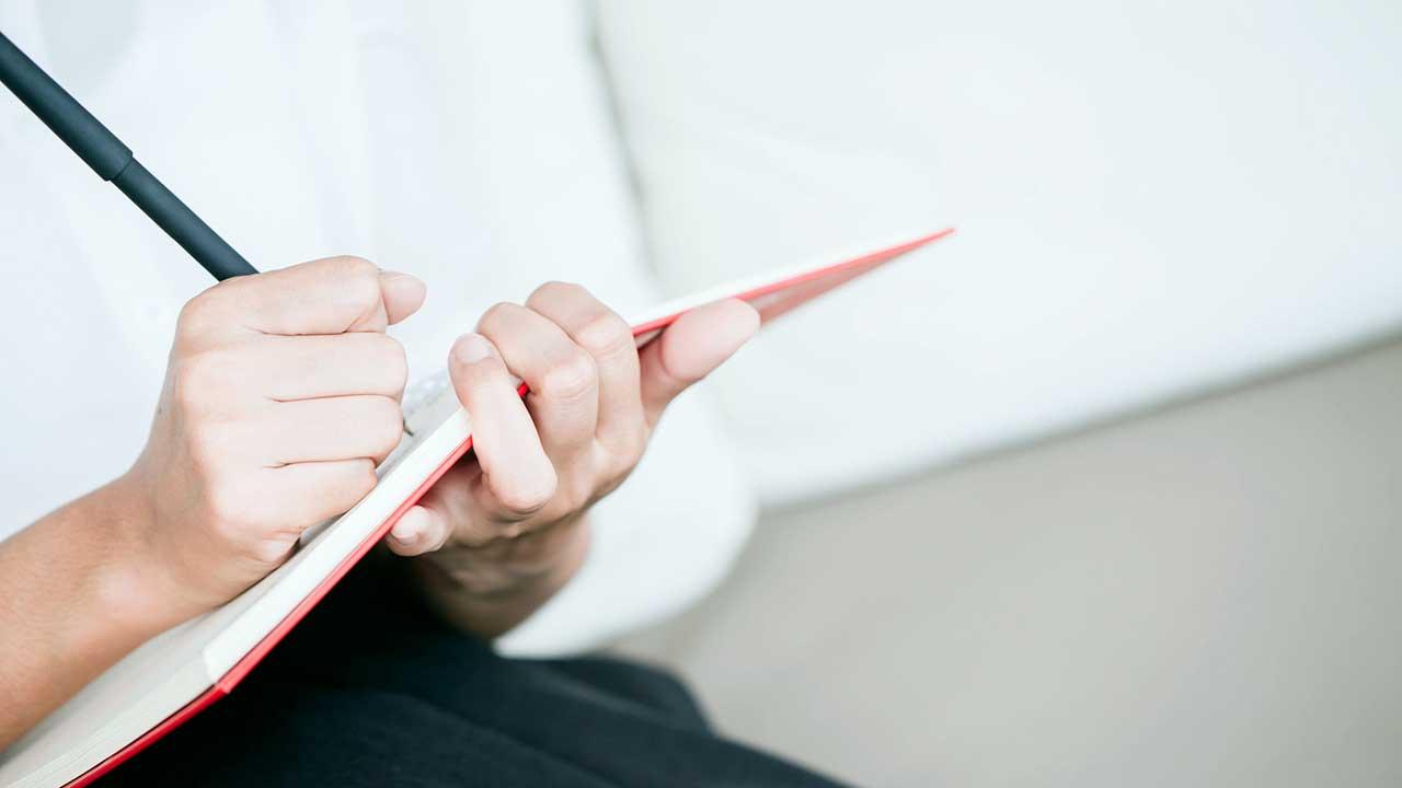 Leben ist wie schreiben | (c) 123rf