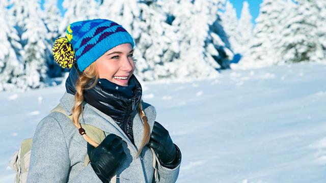 Gesund und frisch im Winter