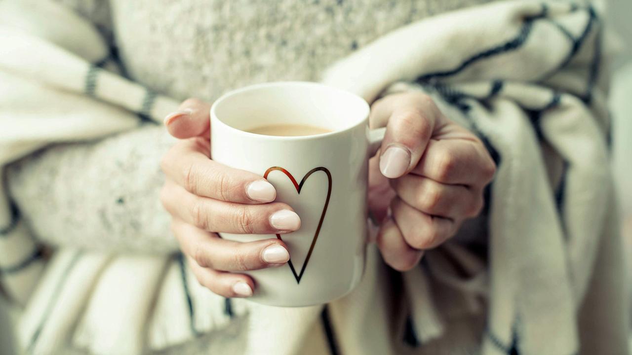 Nach dem Mittagessen in Ruhe einen Kaffee trinken