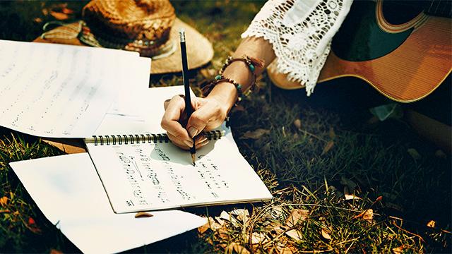 Ein Lebenslied komponieren