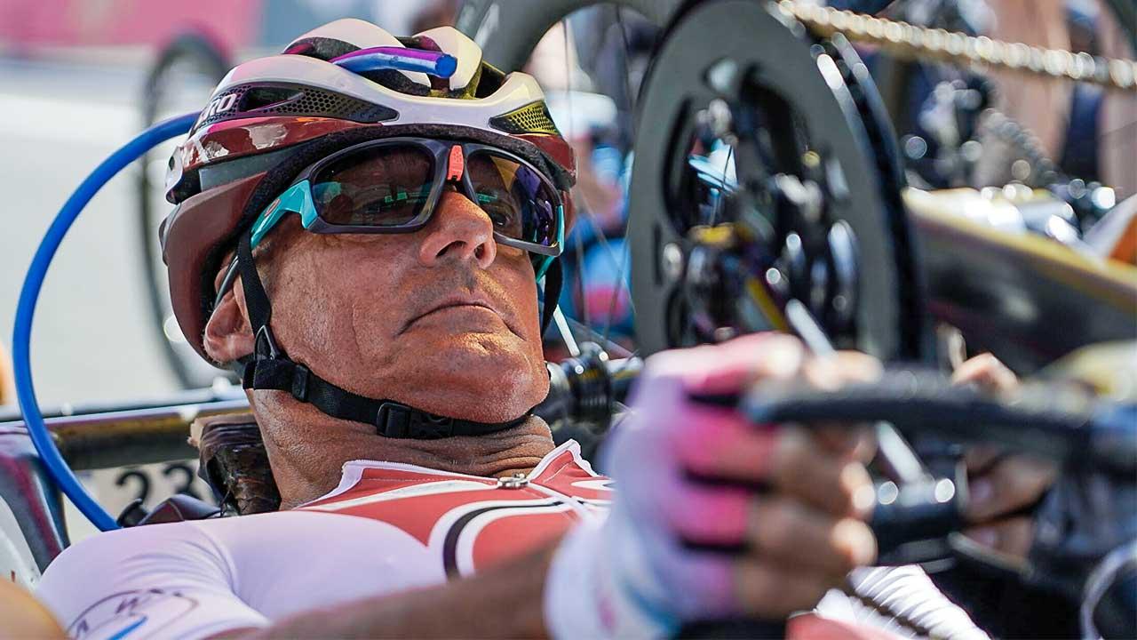Behindertensportler Heinz Frei