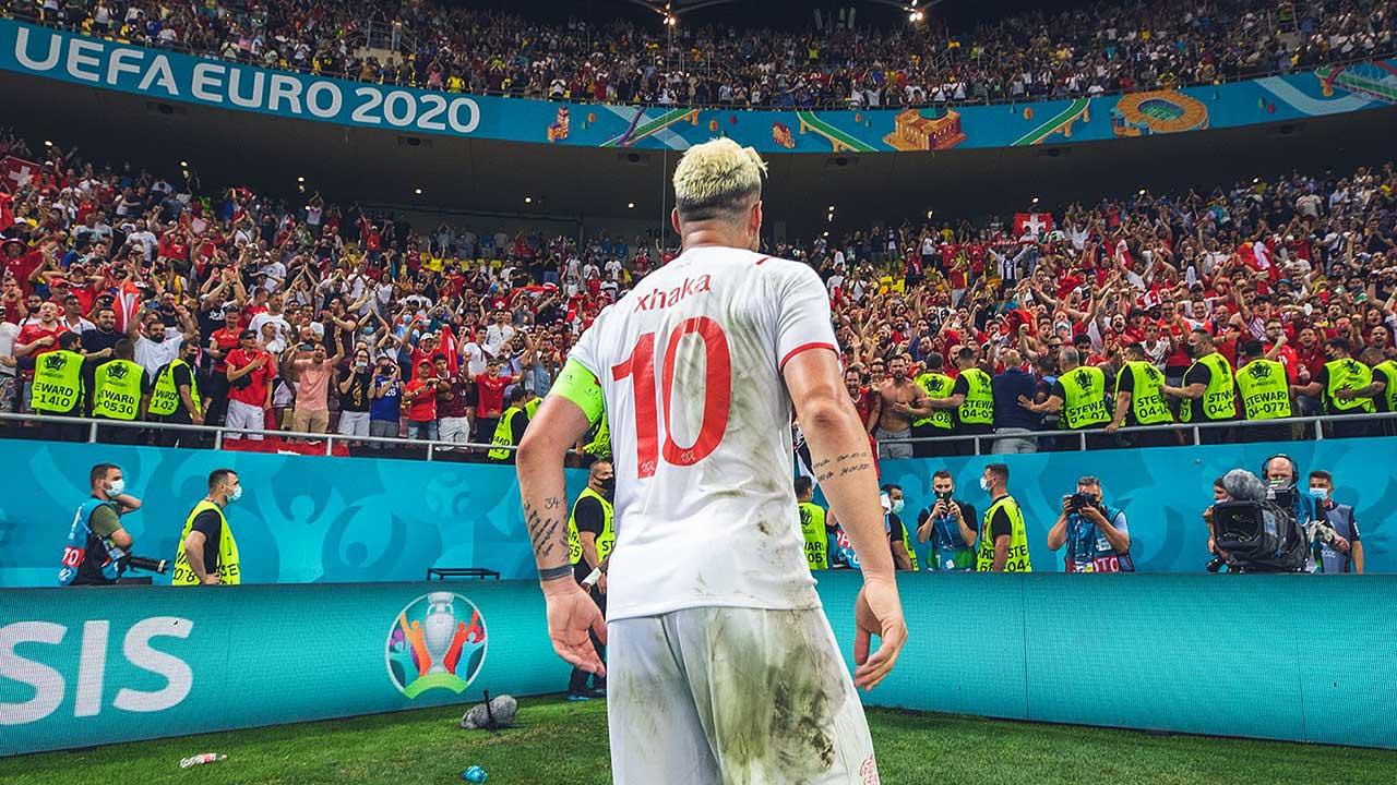 Granit Xhaka an der Fussball-EM 2021