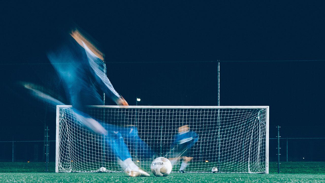 Fussball mit seinen religiösen Zügen