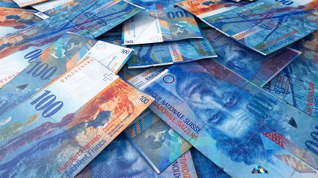 100-Franken-Noten