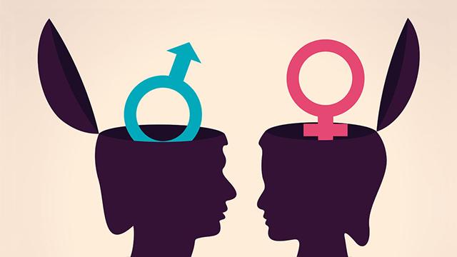 Gedanken Mann und Frau