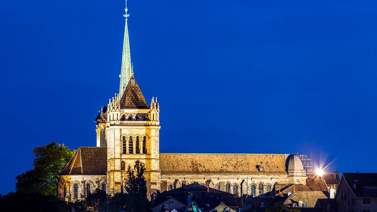 Kathedrale St-Pierre in Genf