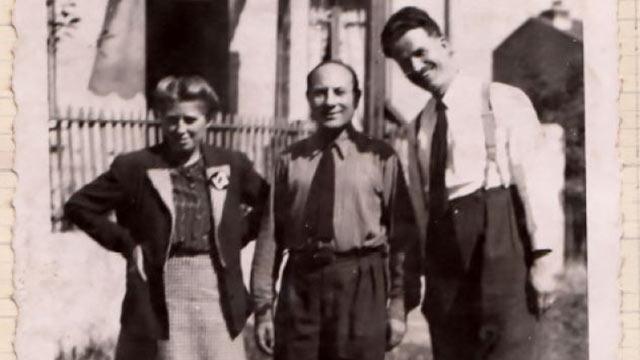 Edmond Riedermit Freunden | (c) Famille Rieder