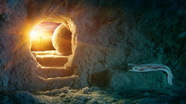 Leeres Grab – Jesus ist auferstanden