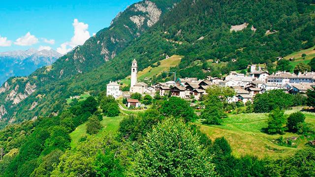 Soglio GR im Bergell: «Das Schönste Dorf der Schweiz» 2015