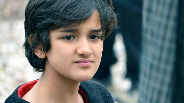 Minderjähriger Flüchtling (c) 123rf