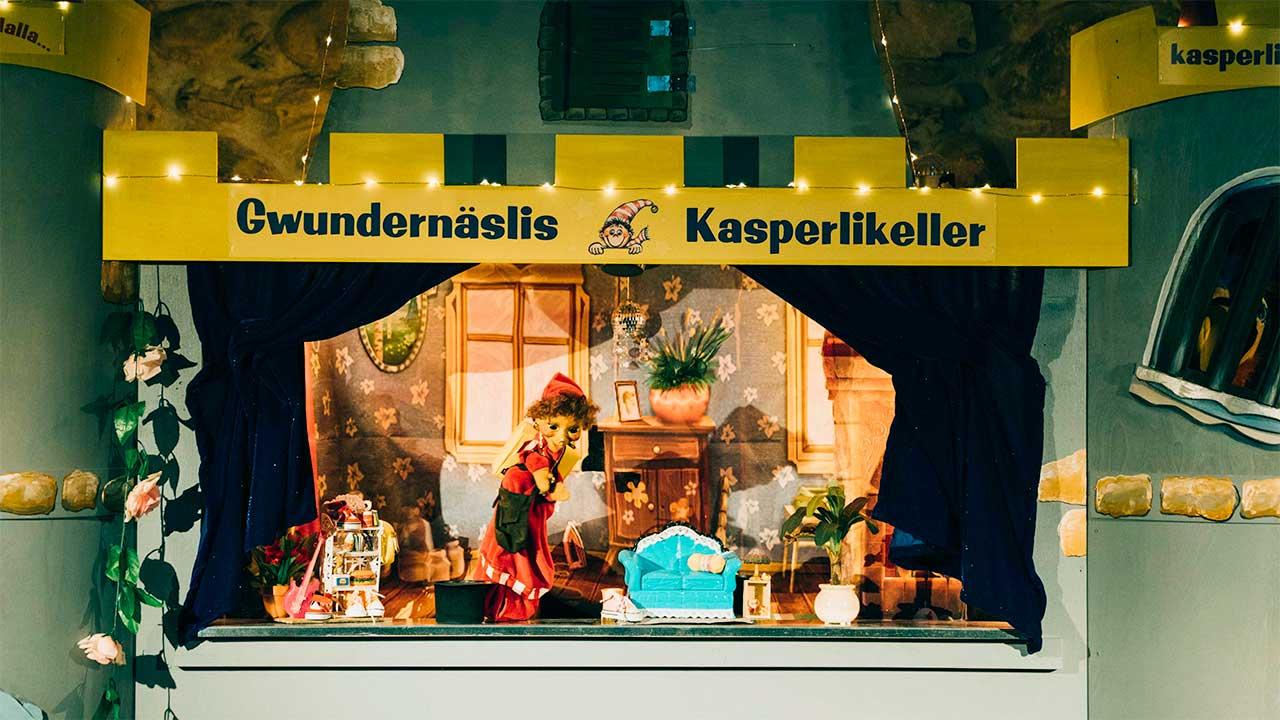 Gwundernäslis Kasperlikeller | (c) Tobias Grimm