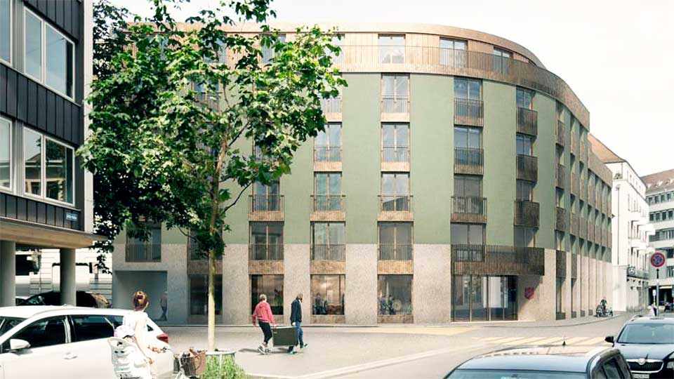 «Hope House» der Heilsarmee in Zürich