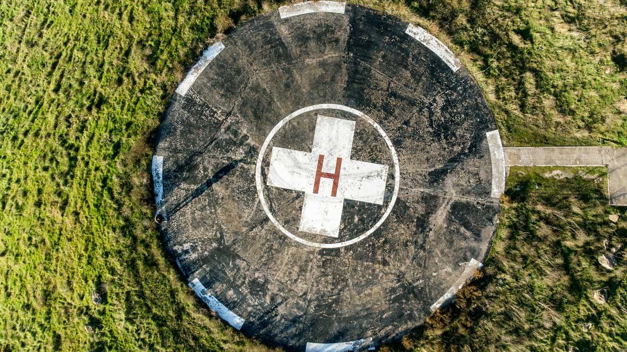 Helikopterlandeplatz