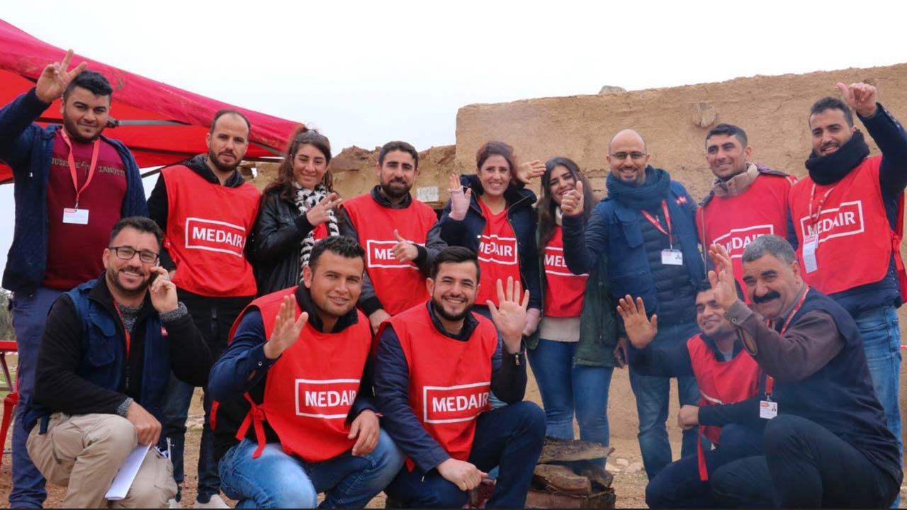 Medair - Lokale Mitarbeiter im Iraq | (c) Medair