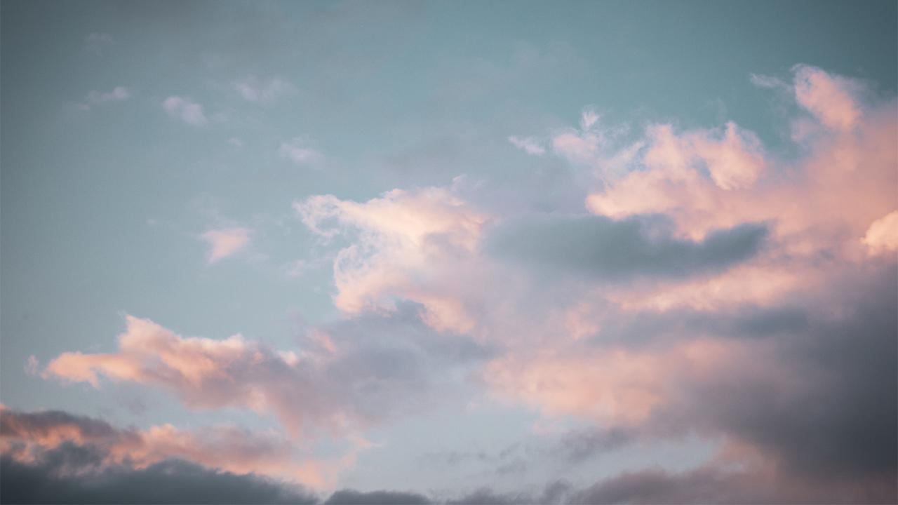 Eine schöne Wolkenstimmung.