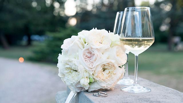 Elemente einer Hochzeitsfeier (c) 123rf