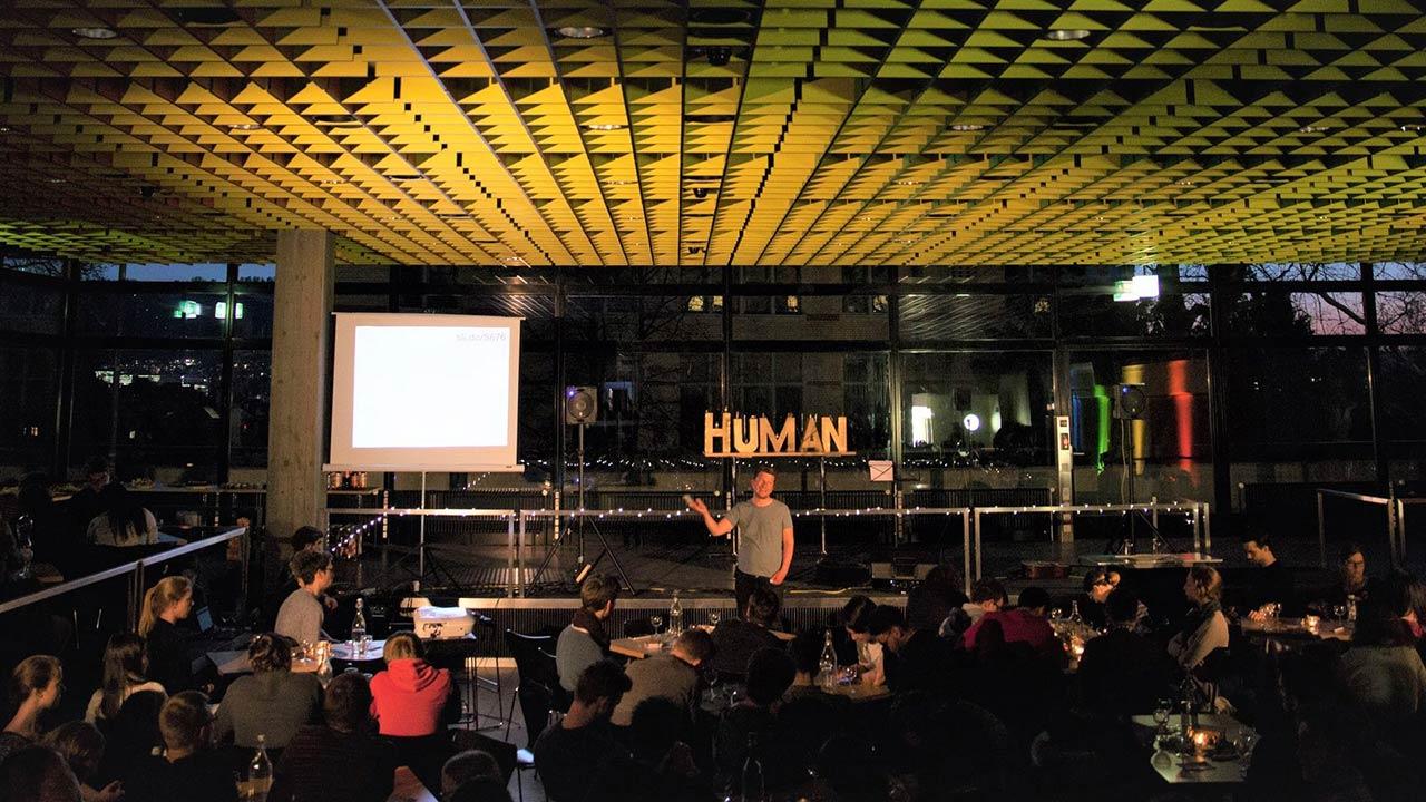 Studierende an einer Veranstaltung von HUMAN 2019 | (c) VBG