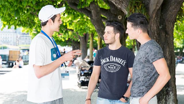 IGSU-Botschafter im Gespräch (c) IGSU