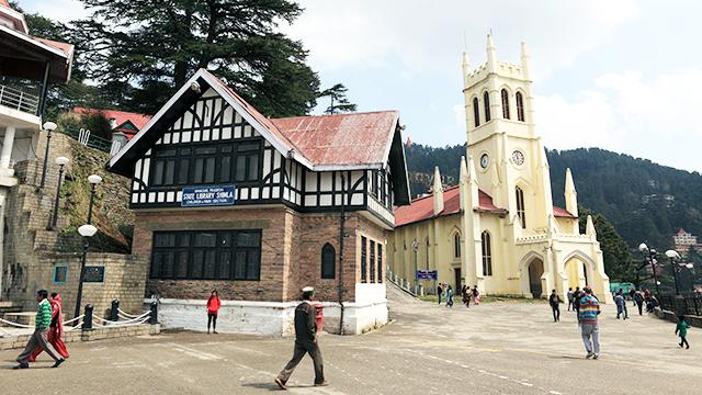 Christ Church in Shimla, Indien